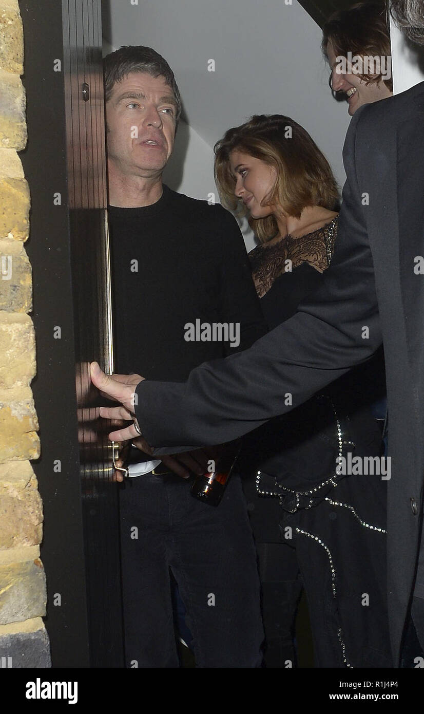 Oasis Star Noel Gallagher Seen Leaving The Chiltern Firehouse The Venue Where His Brother Liam