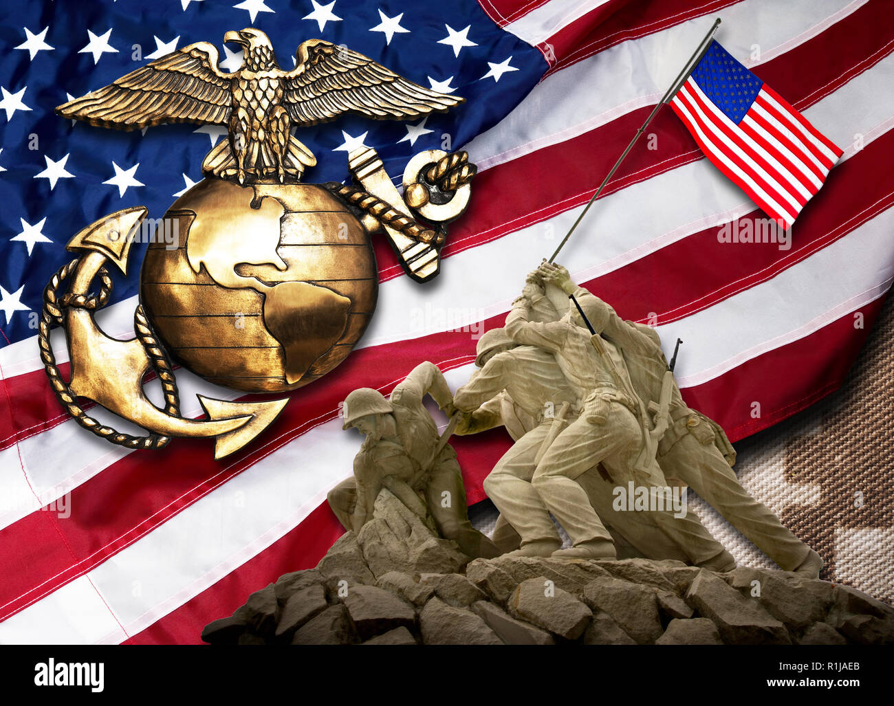 Marines the best of the BEST. Stock Photo