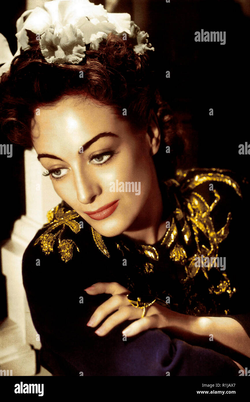 Joan Crawford (born Lucille Fay LeSueur; March 23, c. 1904 ñ May 10, 1977) was an iconic American film and television actress who began her career as a dancer and stage showgirl. In 1999, the American Film Institute ranked Crawford tenth on its list of the greatest female stars of Classic Hollywood Cinema. Credit: Hollywood Photo Archive / MediaPunch - Stock Image