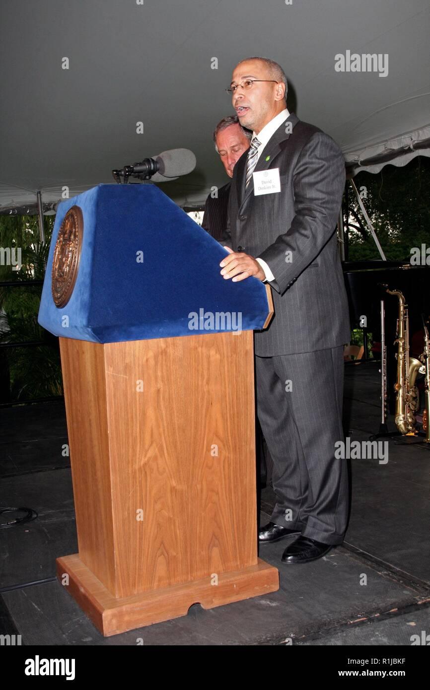 new york ny july 16 david dinkins jr at david dinkins 80th birthday party at gracie alamy
