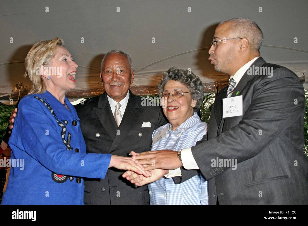 david dinkins jr high resolution stock photography and images alamy https www alamy com new york ny july 16 sen hillary rodham clinton mayor david dinkins joyce dinkins david dinkins jr at david dinkins 80th birthday party at gracie mansion on monday july 16 2007 in new york ny photo by steve macksd mack pictures image224756404 html