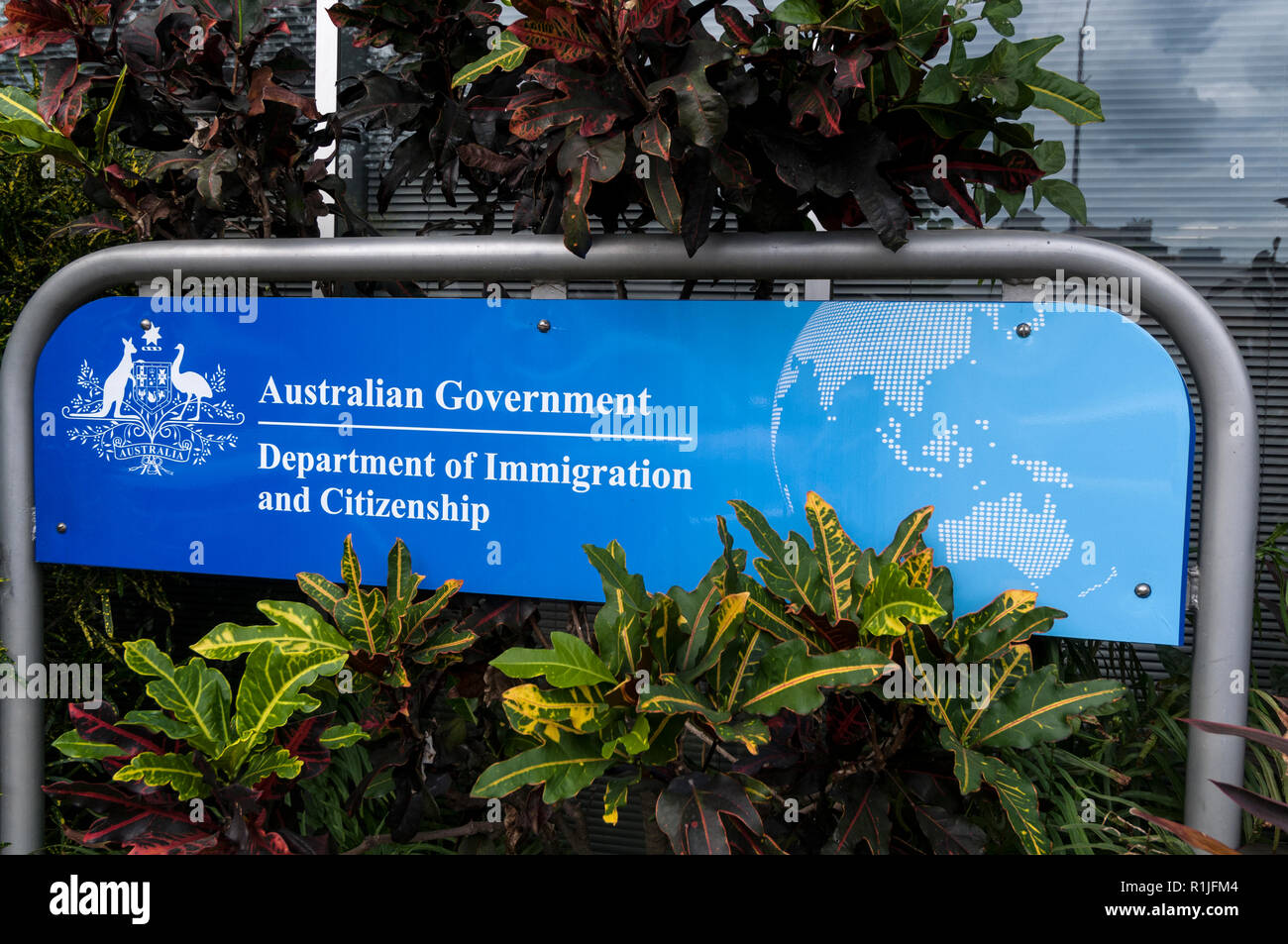 Australian Government Immigration Department and Citizenship  in Darwin, Australia - Stock Image