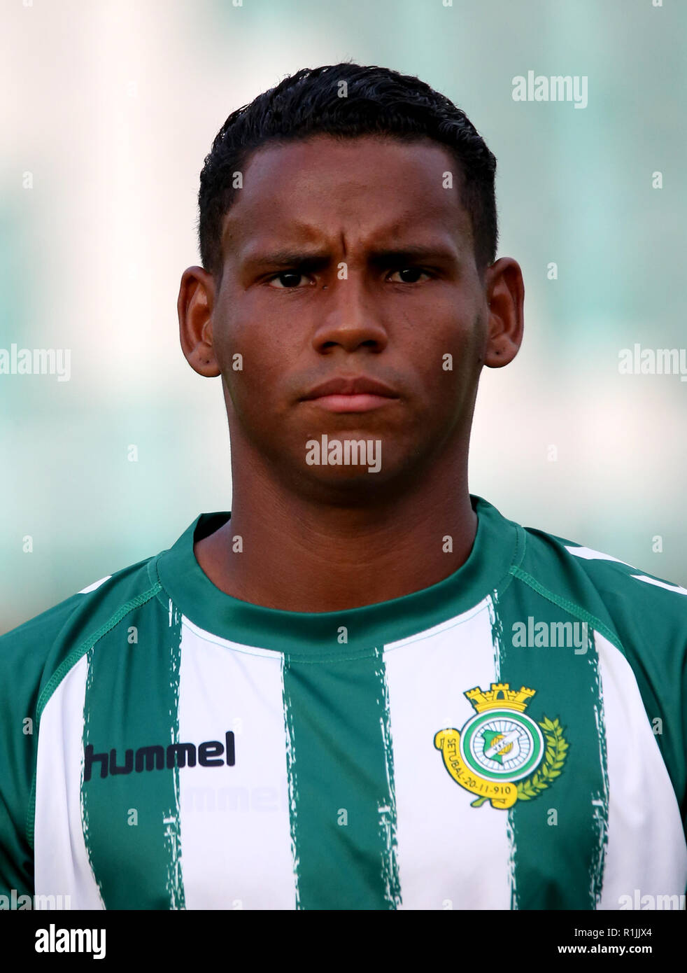 Portugal - Primeira Liga-NOS 2018-2019 /  ( Vitoria Setubal Futebol Clube ) -  Eber Henrique Ferreira Bessa ' Eber Bessa ' - Stock Image