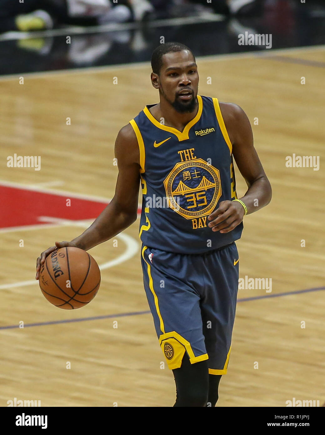 a6e3eb92837f Golden State Warriors forward Kevin Durant  35 during the Golden State  Warriors vs Los Angeles Clippers at Staples Center on November 12