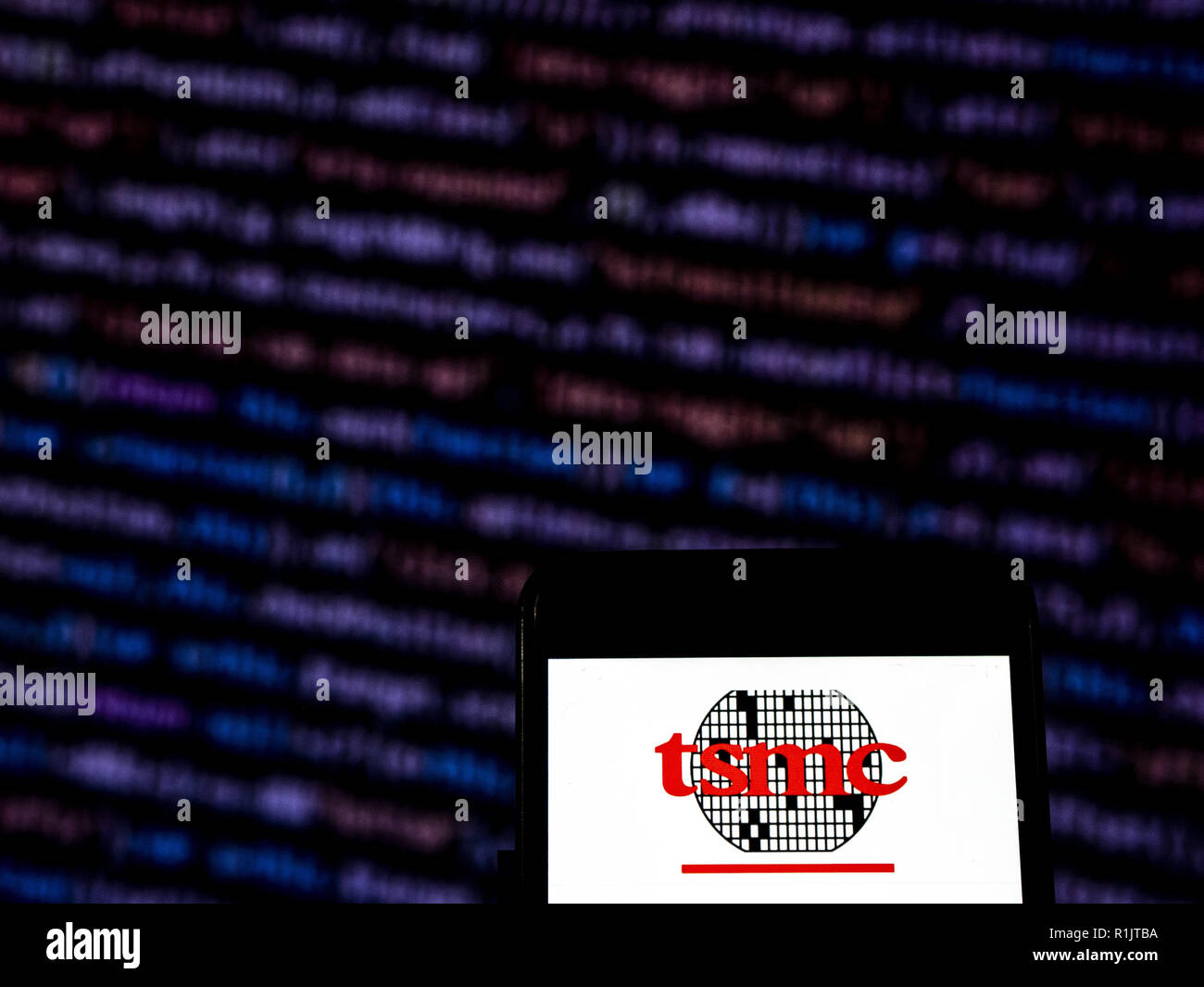 Taiwan Semiconductor Manufacturing Company Tsmc Stock Photos