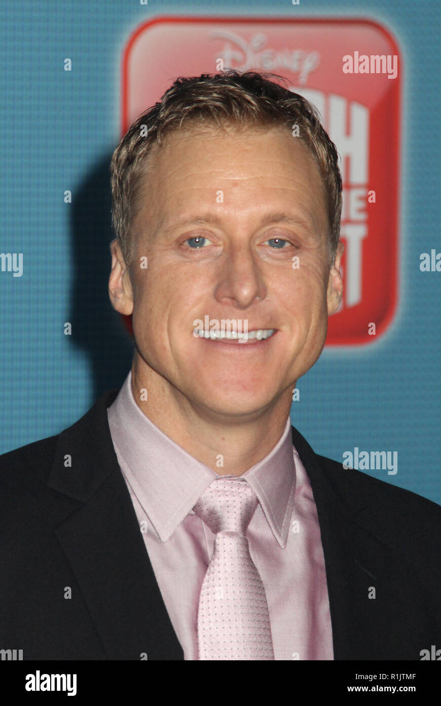 Alan Tudyk  11/05/2018 The World Premiere of 'Ralph Breaks the Internet' held at El Capitan Theatre in Los Angeles, CA   Photo: Cronos/Hollywood News - Stock Image