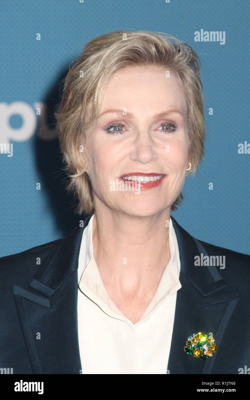Jane Lynch  11/05/2018 The World Premiere of 'Ralph Breaks the Internet' held at El Capitan Theatre in Los Angeles, CA   Photo: Cronos/Hollywood News - Stock Image