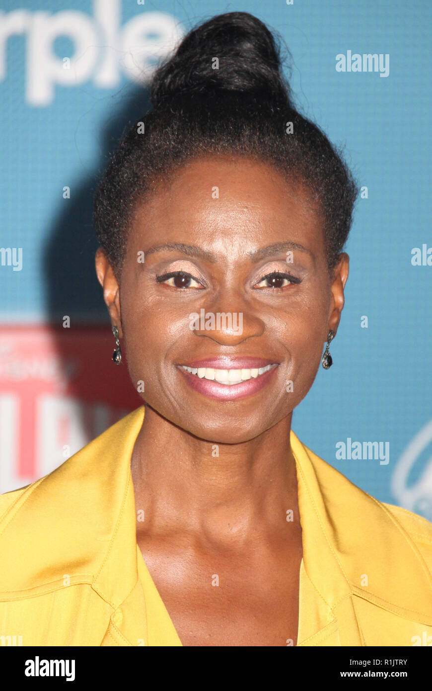 Adina Porter  11/05/2018 The World Premiere of 'Ralph Breaks the Internet' held at El Capitan Theatre in Los Angeles, CA   Photo: Cronos/Hollywood News - Stock Image