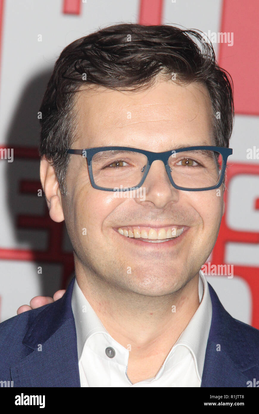 Phil Johnston  11/05/2018 The World Premiere of 'Ralph Breaks the Internet' held at El Capitan Theatre in Los Angeles, CA   Photo: Cronos/Hollywood News - Stock Image