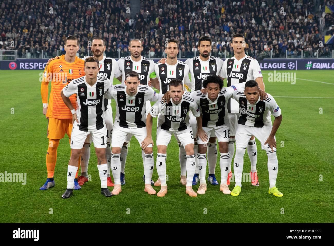 Juventus Team High Resolution Stock Photography And Images Alamy