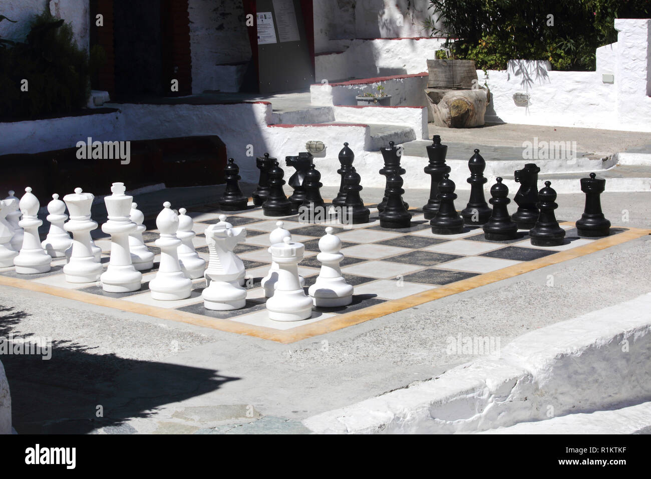 Giant Chess Board Stock Photos & Giant Chess Board Stock Images - Alamy