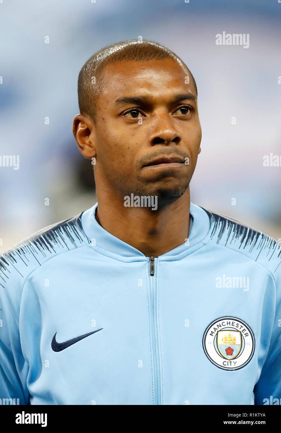 Manchester City's Fernandinho Stock Photo - Alamy