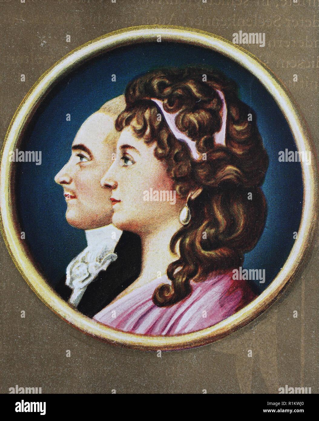 Anna Bernhardt digital improved reproduction, anna elisabeth lili schÃ