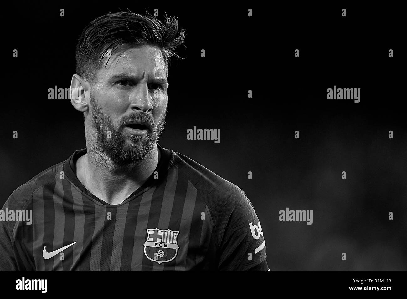 Leo Messi Black And White Stock Photos Images Alamy