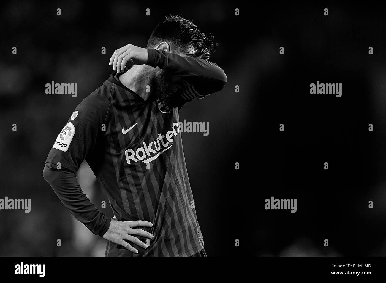 Messi Black And White Stock Photos Images Alamy