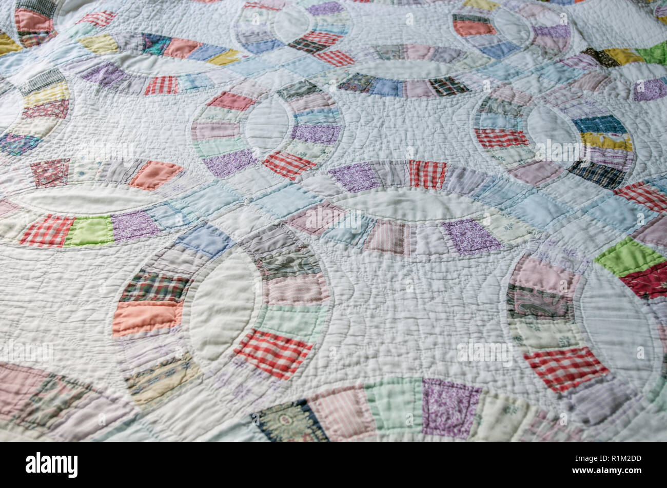 Hand Sewn Quilt Stock Photos Hand Sewn Quilt Stock Images Alamy