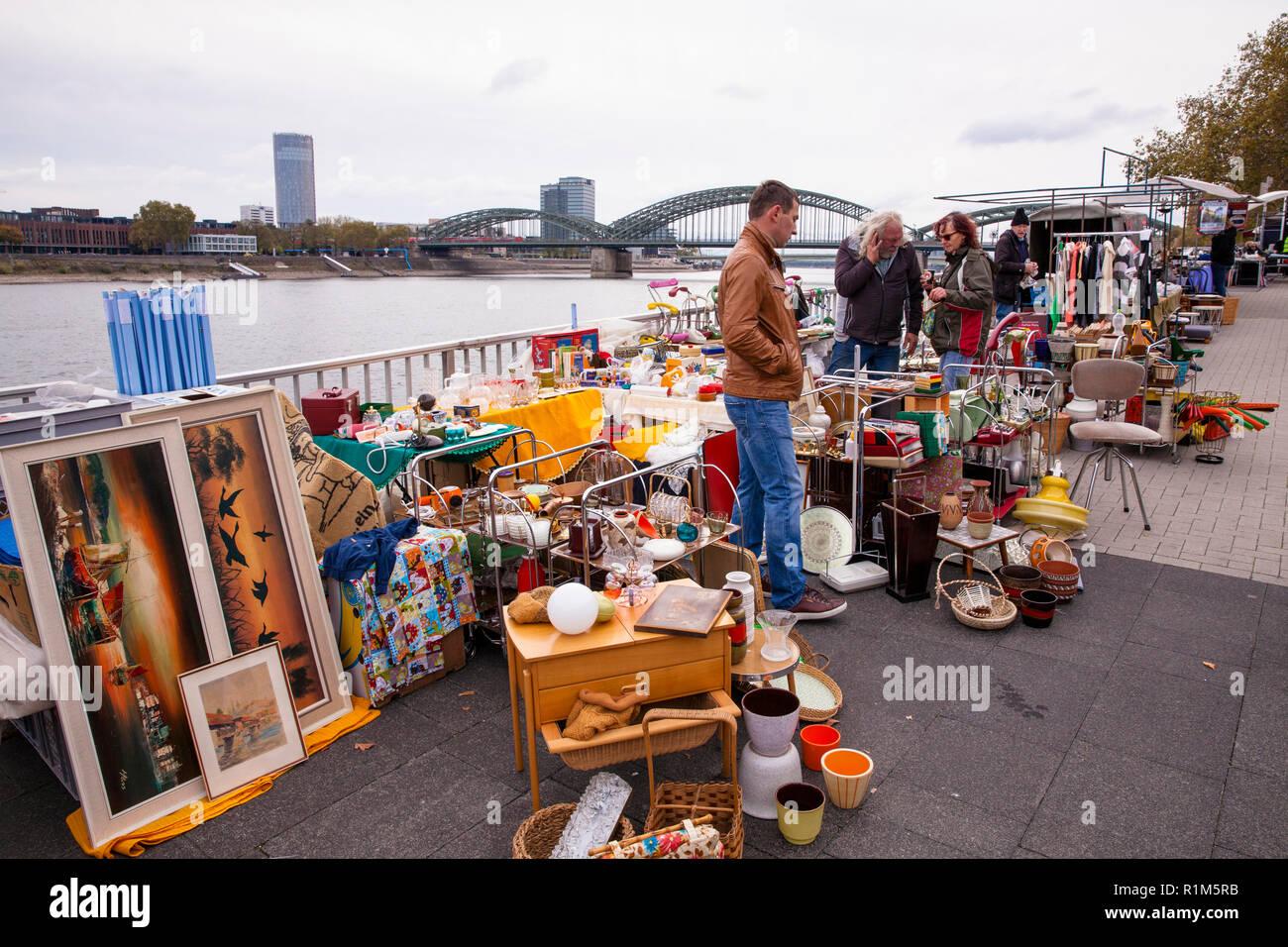 Trödelmarkt Köln Rheinufer