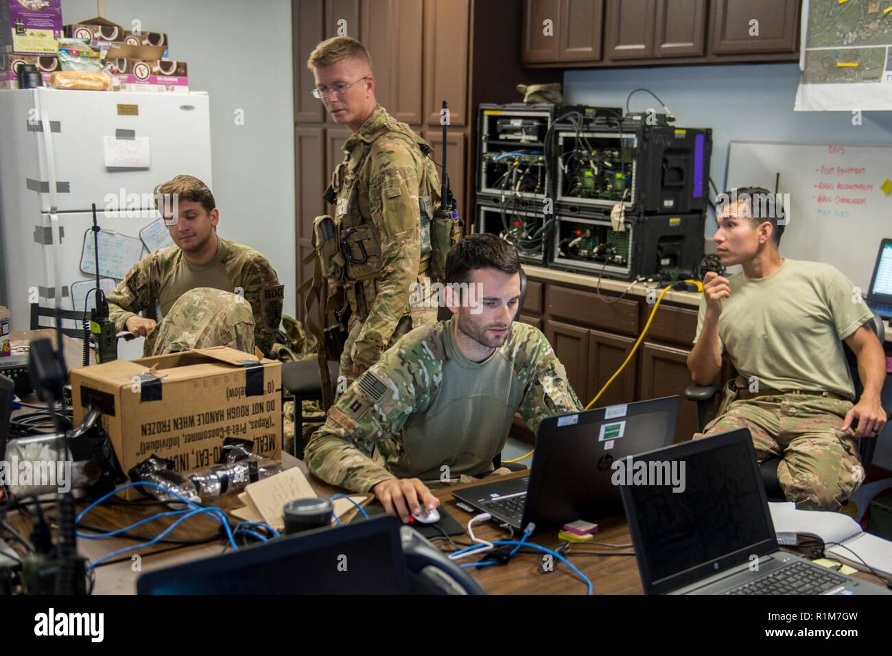 U S  Air Force Security Forces base defenders, from the