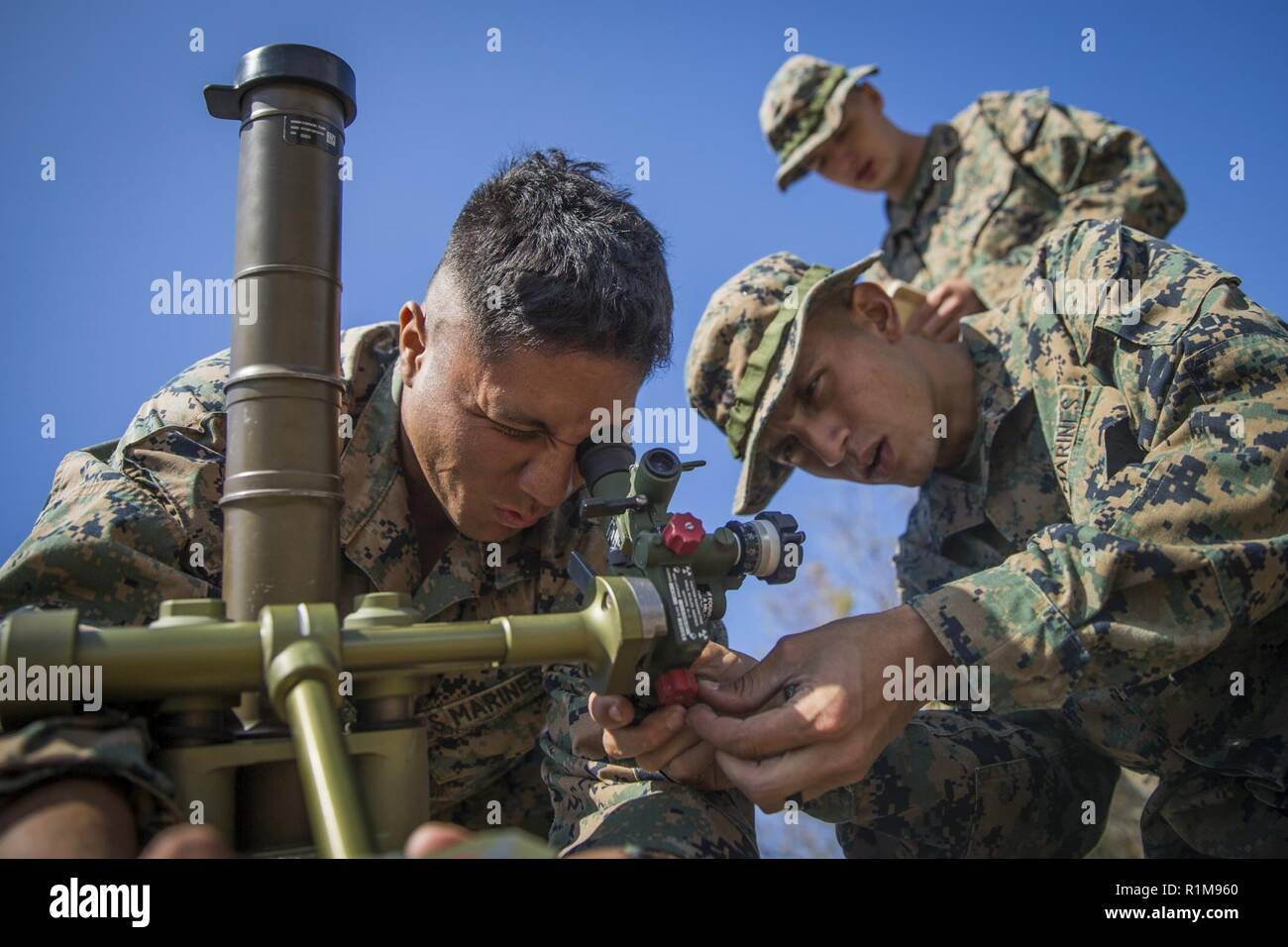 Marines With Kilo Company Battalion Landing Team 3rd Battalion 5th