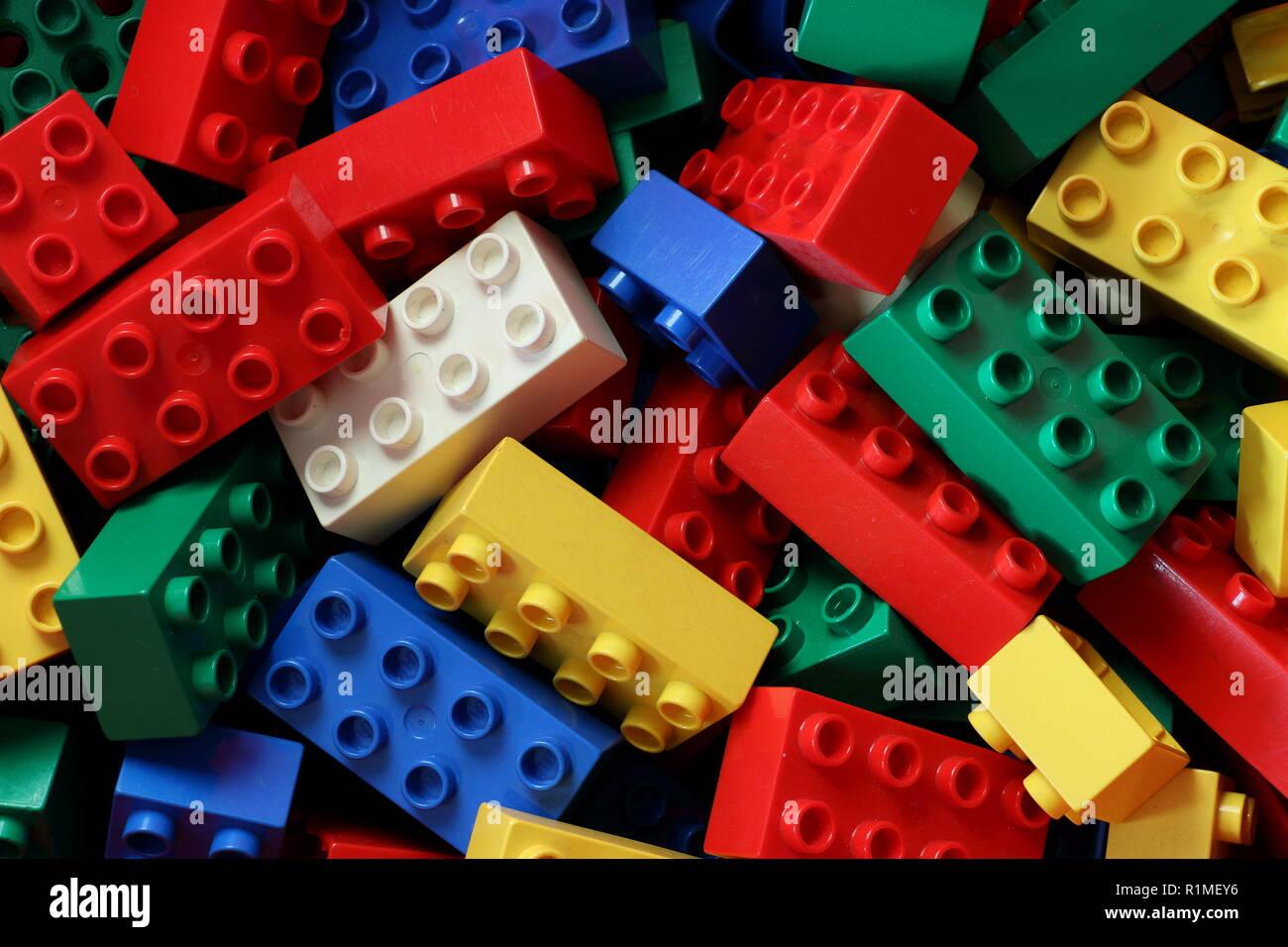 Lego Blocks Stock Photos & Lego Blocks Stock Images - Alamy