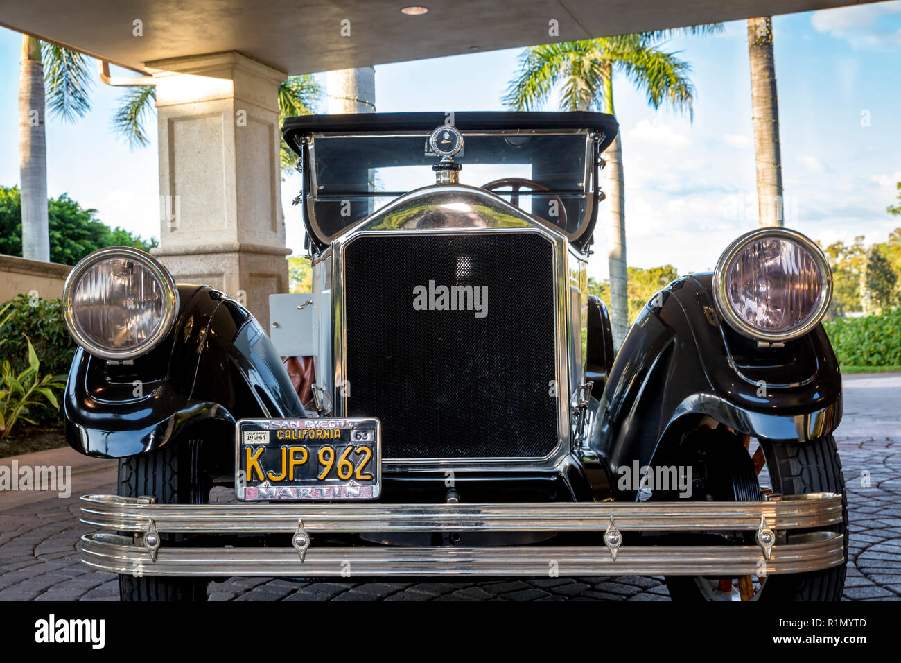 1926 Ford Model T Roadster at Quail Creek Country Club, Naples, Florida, USA - Stock Image