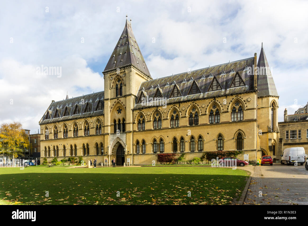 The Oxford University Museum of Natural History, Oxford. - Stock Image