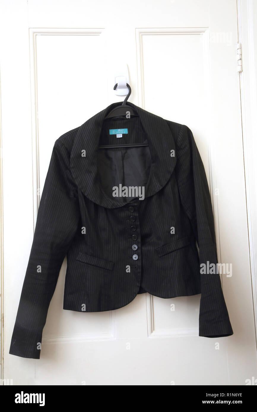 Black Jacket - Stock Image