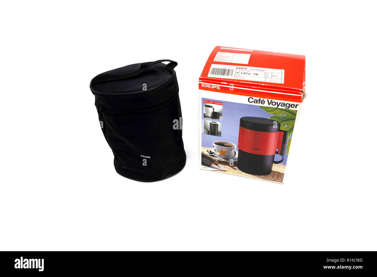 Krups Cafe Voyager Travel Size Coffee Maker - Stock Image