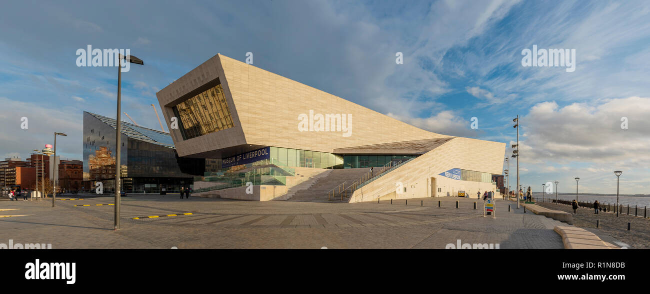 The Museum of Liverpool by 3XN architects - Stock Image