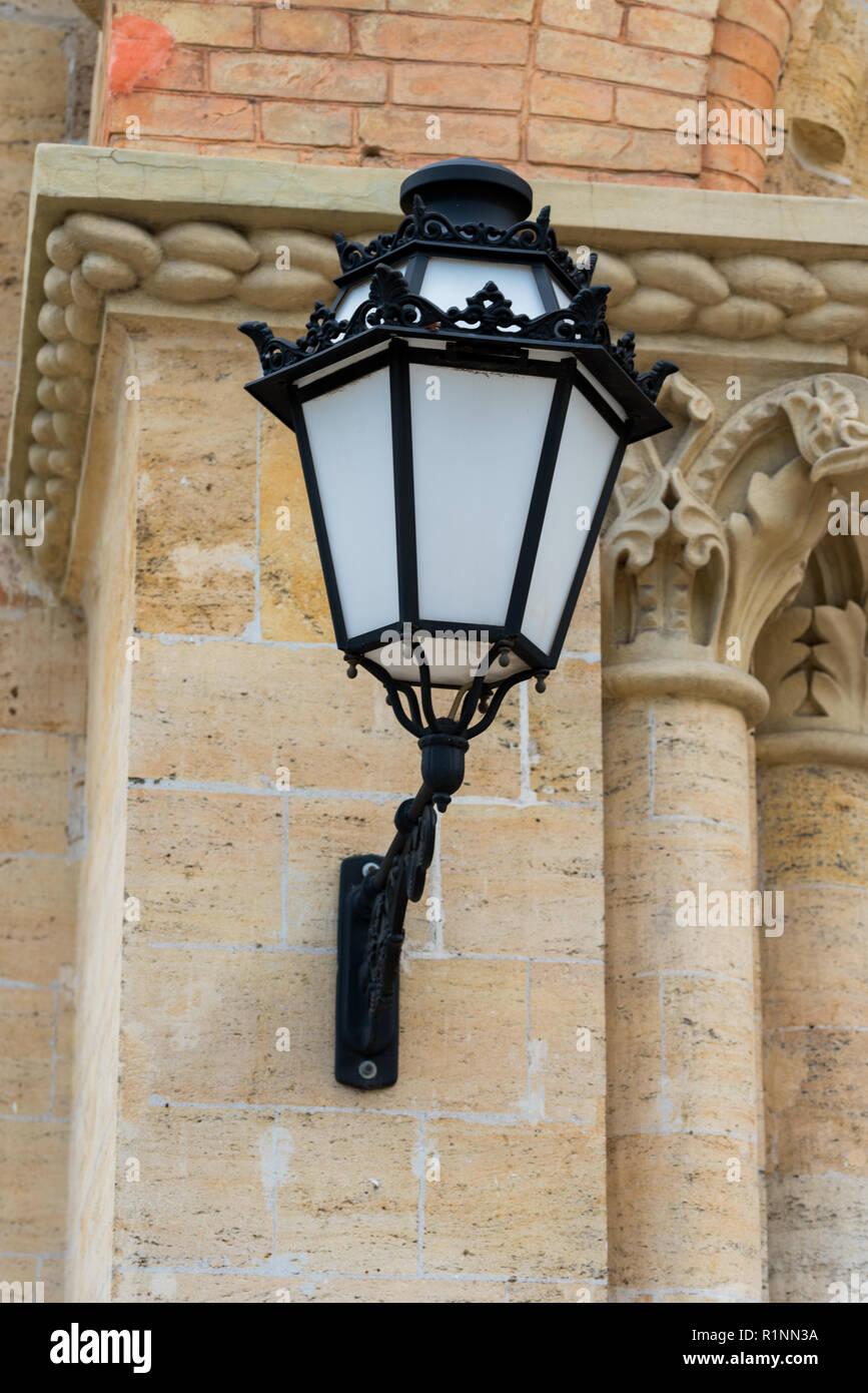 lanterns to illuminate buildings - Stock Image