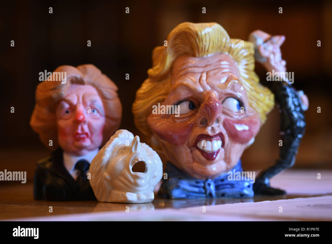 Spitting Image memorabilia including a limited edition Margaret