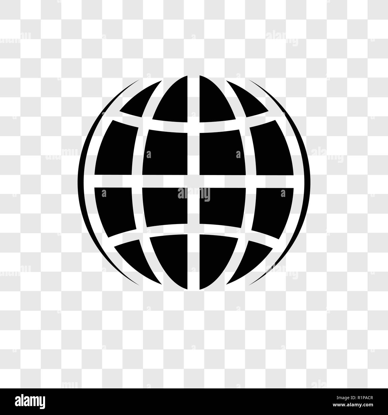 Internet Vector Icon Isolated On Transparent Background Internet Transparency Logo Concept Stock Vector Image Art Alamy