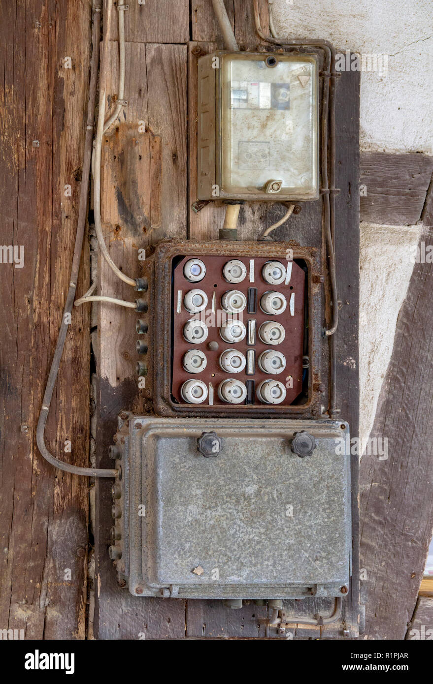 Old Electrical Fuse Box High Resolution Stock Photography and Images - AlamyAlamy