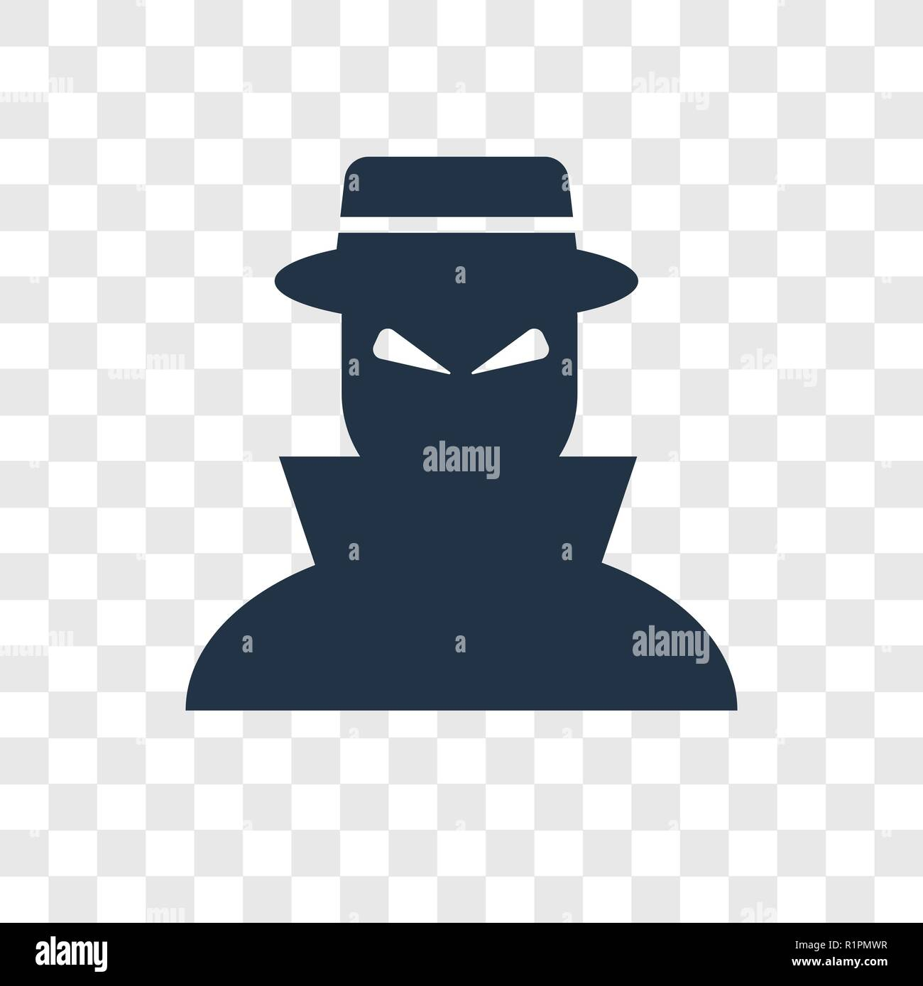 spy vector icon isolated on transparent background spy transparency logo concept stock vector image art alamy https www alamy com spy vector icon isolated on transparent background spy transparency logo concept image224848787 html