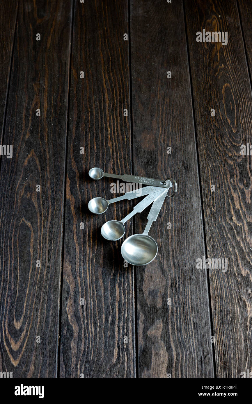 Measuring Spoons - Stock Image