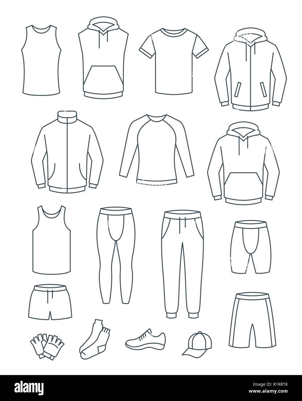 Tracksuit Bottoms Cut Out Stock Images & Pictures - Alamy