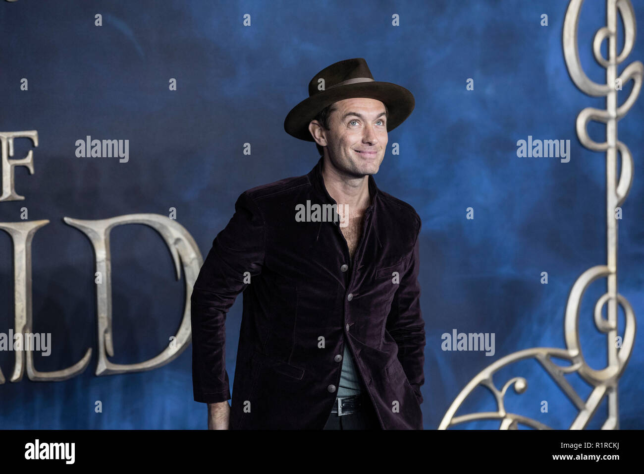 London, UK. 13th Nov, 2018. Fantastic Beasts:The Crimes of Grindelwald film premiere, Leicester Square, London, UK Credit: Jeff Gilbert/Alamy Live News Credit: Jeff Gilbert/Alamy Live News Stock Photo