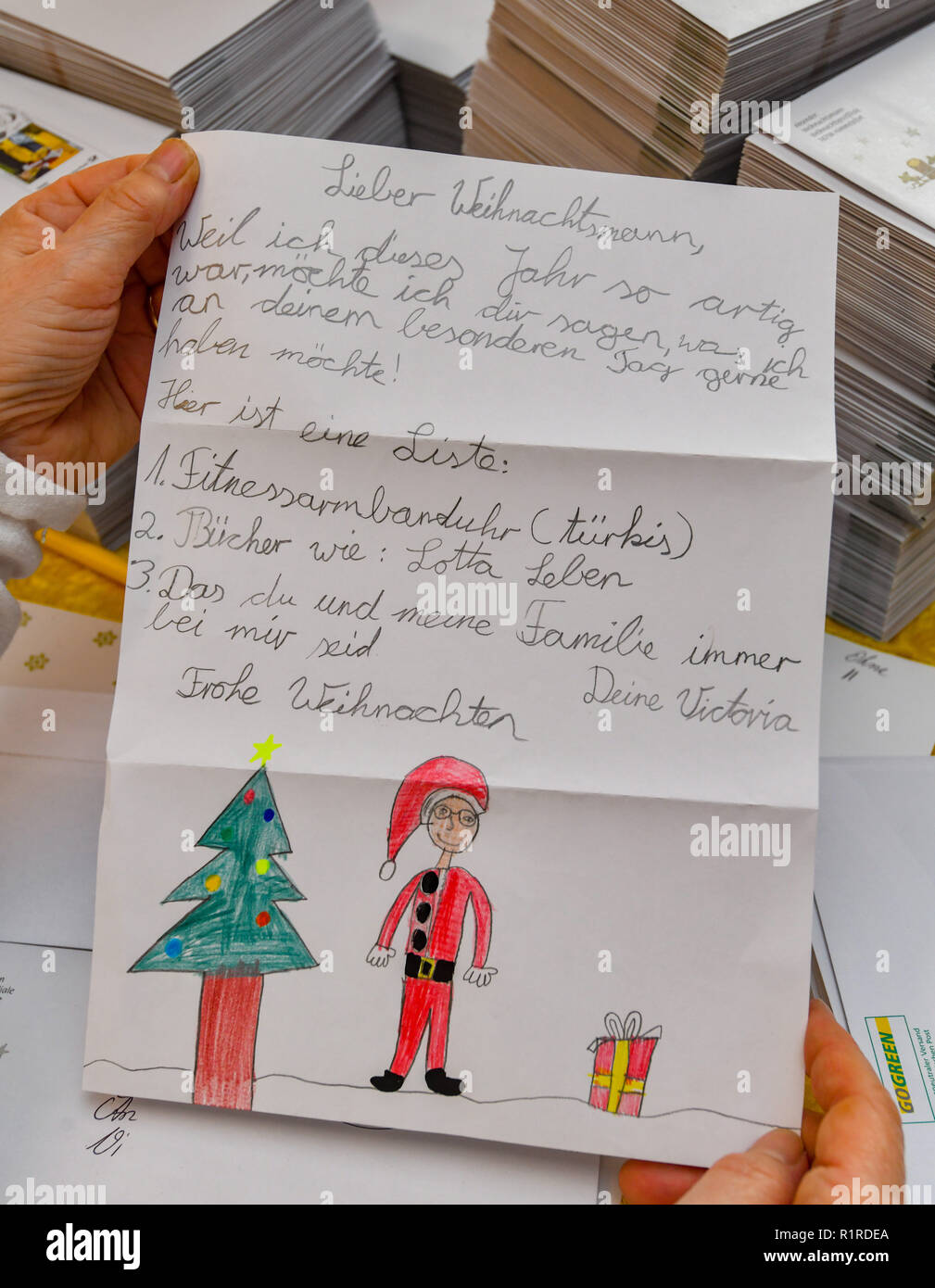 Himmelpfort, Germany  14th Nov, 2018  A Deutsche Post