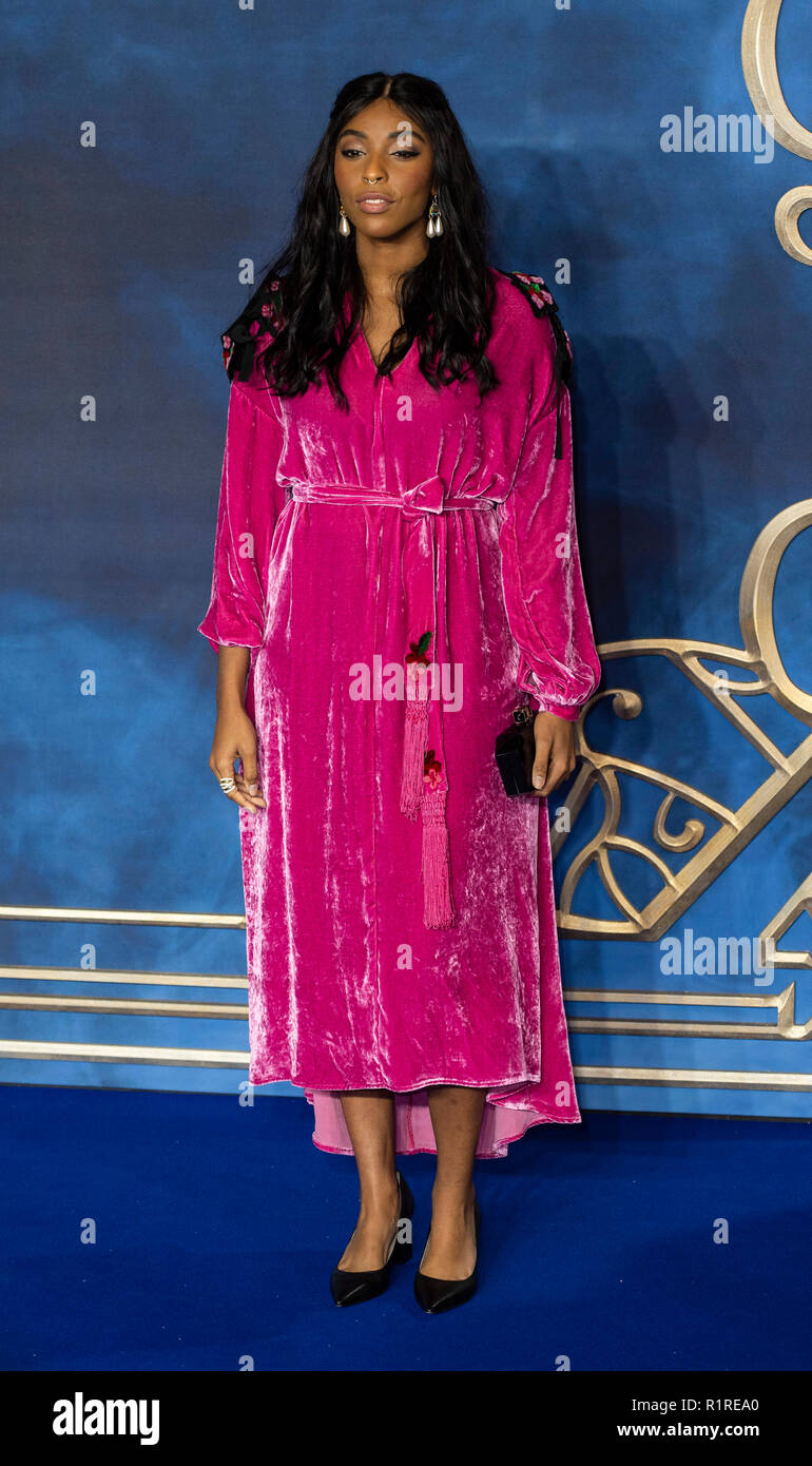 London, UK. 13th November, 2018.   attends the UK Premiere of 'Fantastic Beasts: The Crimes Of Grindelwald' at Cineworld Leicester Square on November 13, 2018 in London, England. Credit: Gary Mitchell, GMP Media/Alamy Live News Stock Photo