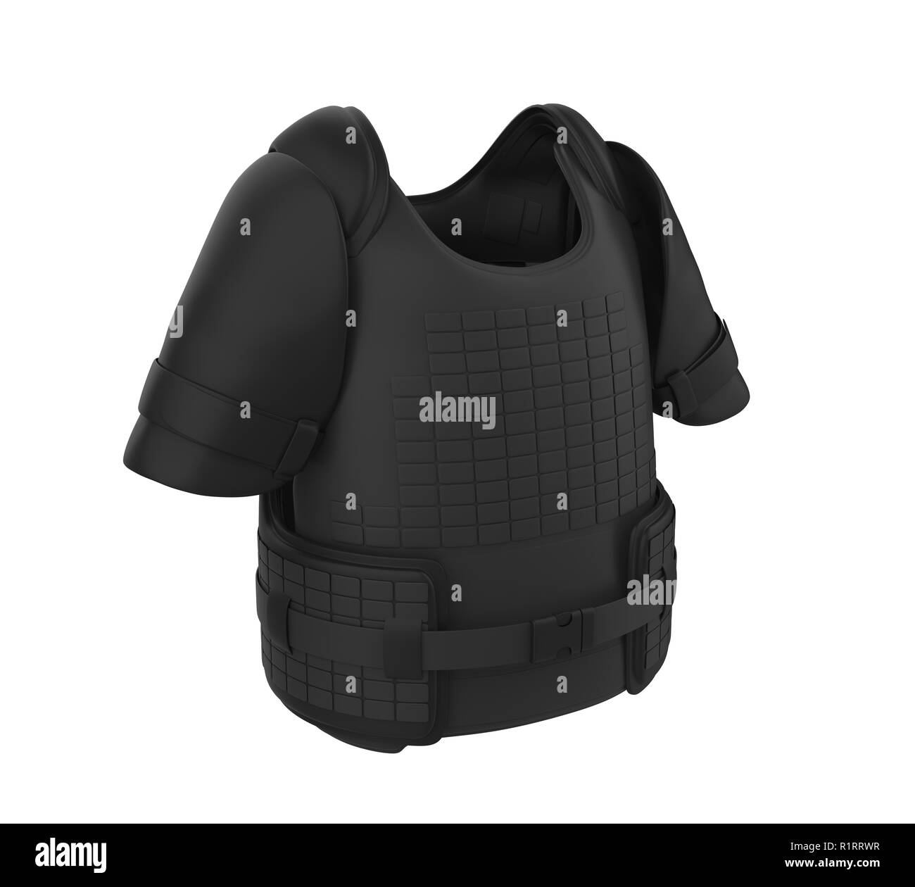 Bullet Proof Vest Isolated - Stock Image