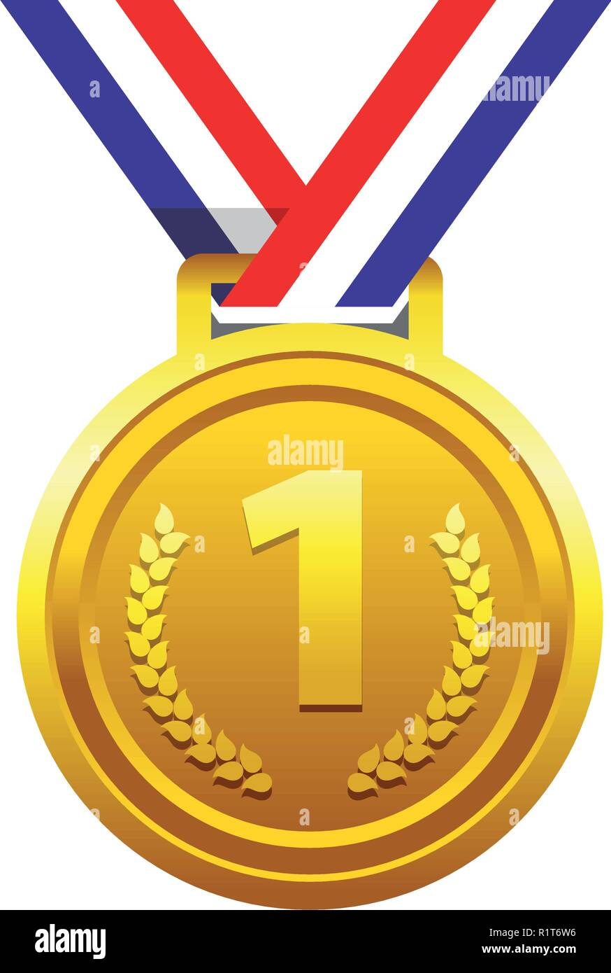 First Place - Stock Vector