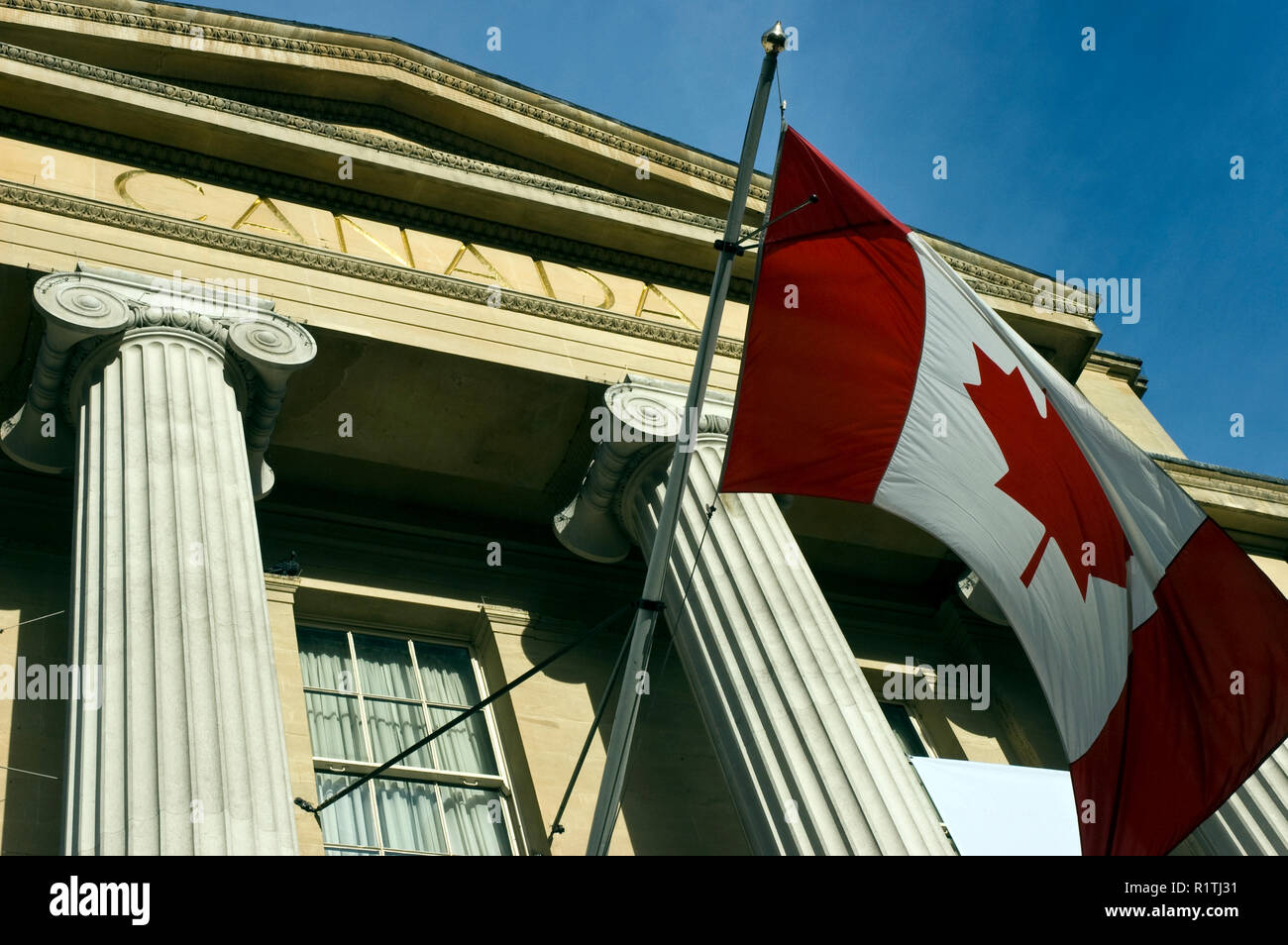 Canada House (Maison du Canada) is a Greek Revival building of the ...
