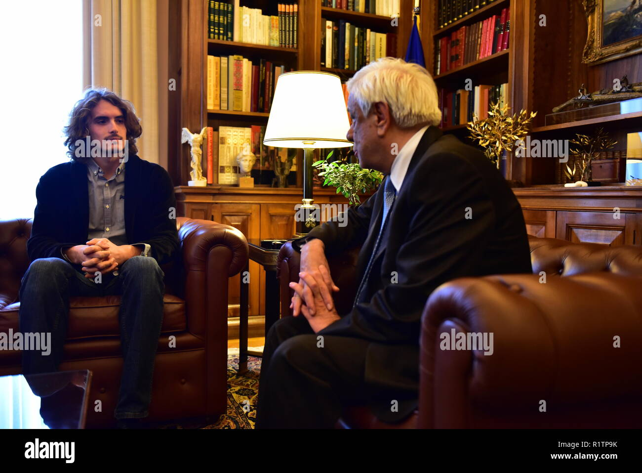 Stefanos Tsitsipas High Resolution Stock Photography And Images Alamy