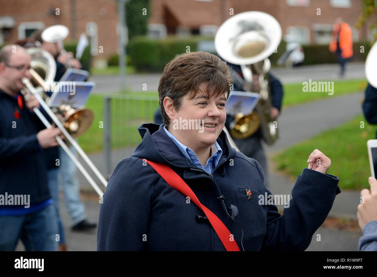 Telford Labour party Parliamentary Candidate Katrina Gilman - Stock Image