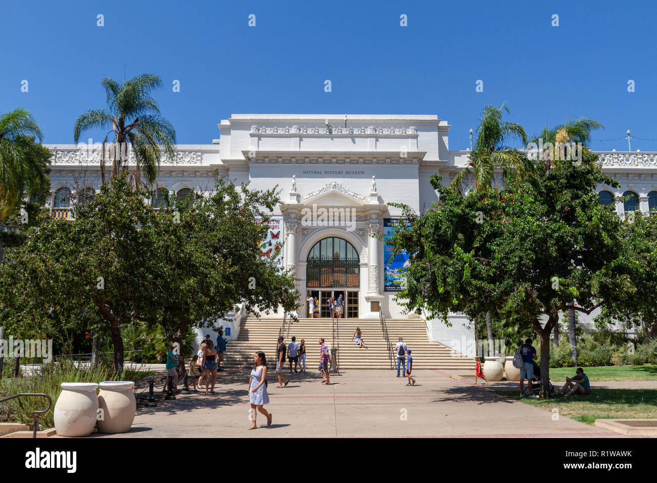 The San Diego Natural History Museum In Balboa Park San Diego