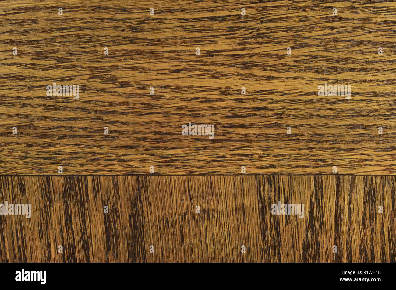 Oak Grain Veneer Texture Background Dark Black Brown