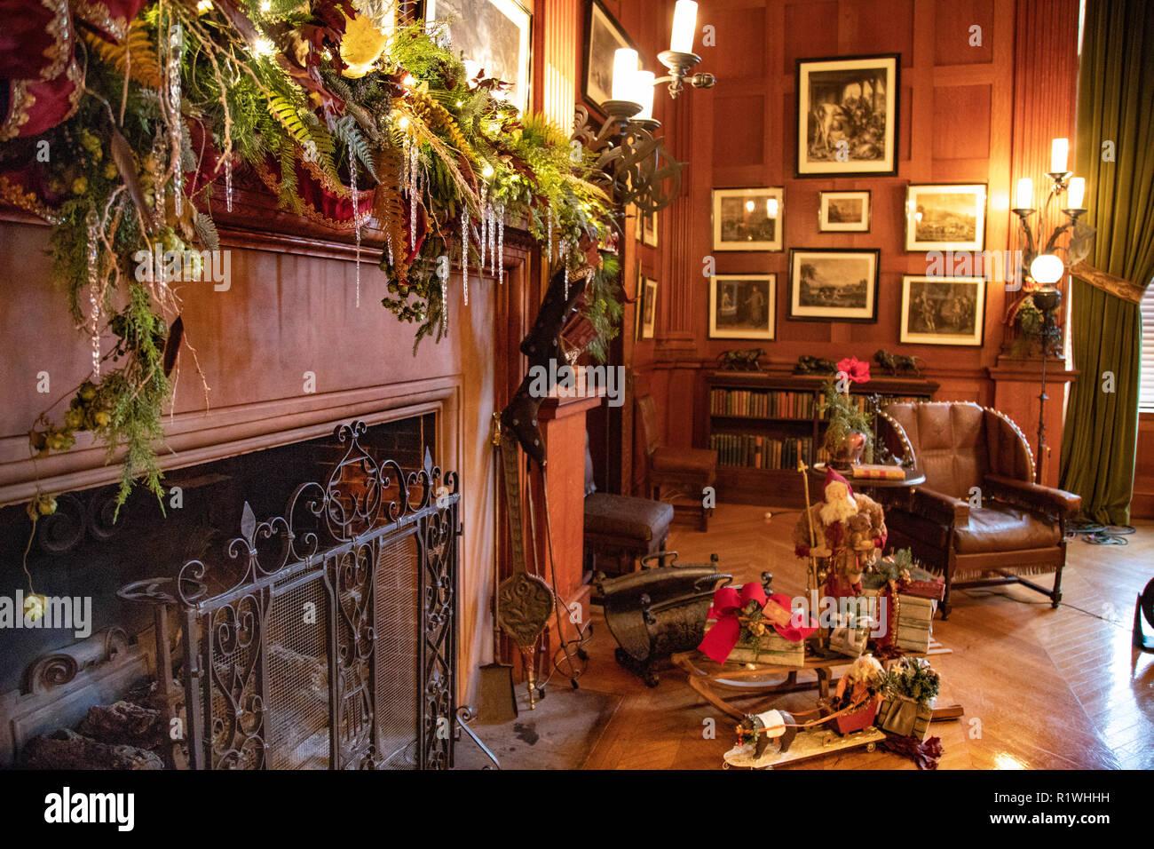 billards room interior at the biltmore estate large private estate