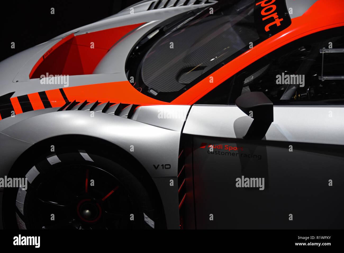 Audi R8 Lms Gt3 Mondial Paris Motor Show Paris France Europe