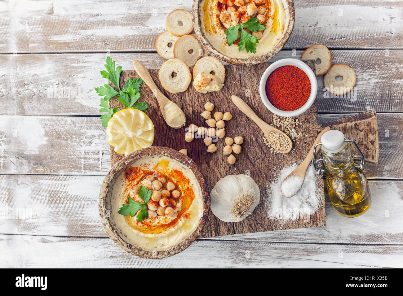 Islamic and Arabic foods and traditional backgrounds Stock