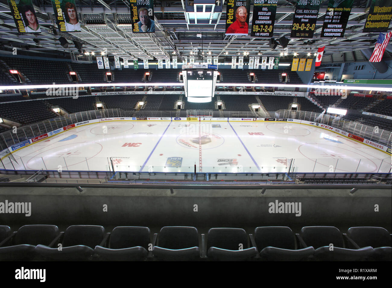 Budweiser Gardens Home Of The London Knights Empty Stock Photo Alamy